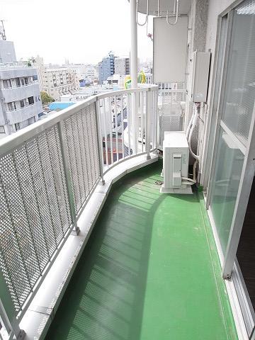 武蔵小山フラワーマンション バルコニー
