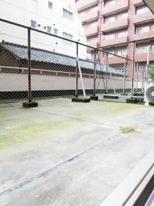 マンション新宿御苑  バルコニー