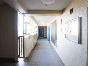 馬事公苑前ハイム1号棟 外廊下