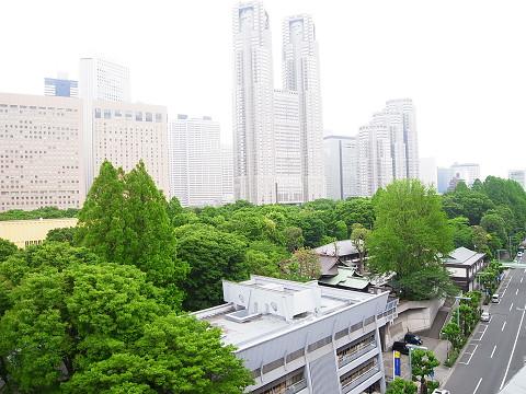 東建ニューハイツ西新宿 眺望