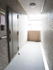 ライオンズシティ渋谷本町  外廊下