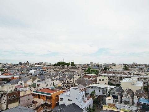 祐天寺第2コーポラス 眺望