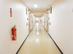 シャンボール第2築地 内廊下