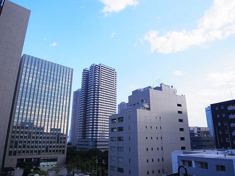 中銀新川マンシオン  バルコニー眺望