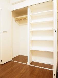 柿の木坂スカイマンション  洋室1収納
