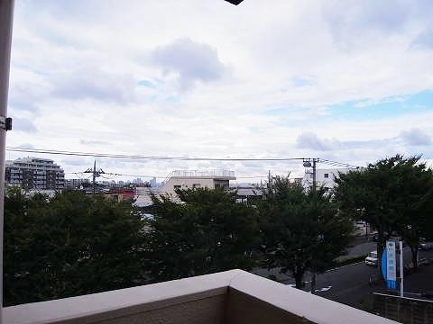 パラスト千歳船橋  眺望