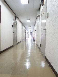 玉川コーポラス 内階段
