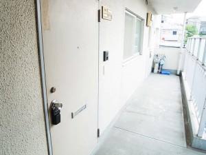 ライオンズマンション桜新町  廊下