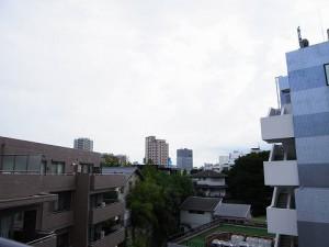 池田山スカイマンション 洋室3眺望