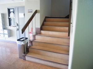 牛込中央マンション 階段