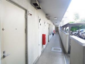 二子玉川ロイヤルマンション 外廊下