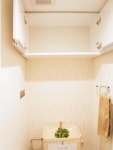二子玉川ロイヤルマンション トイレ収納