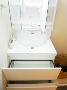メゾン・ド・エビス  洗面台収納
