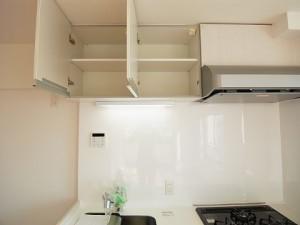 自由ヶ丘セントラルマンション キッチン収納