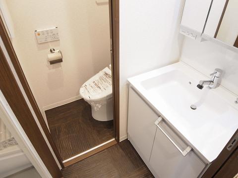 コーポラス幡ヶ谷 洗面室