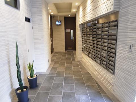 クレベール西新宿フォレストマンション エントランス