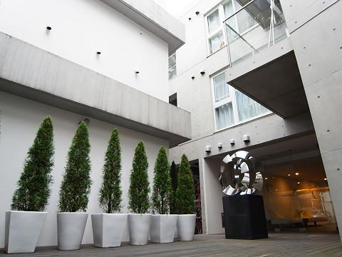 セルフィスタ渋谷 中庭