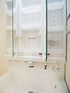 柿の木坂パレス 洗面台