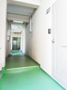新宿パークサイド永谷  廊下