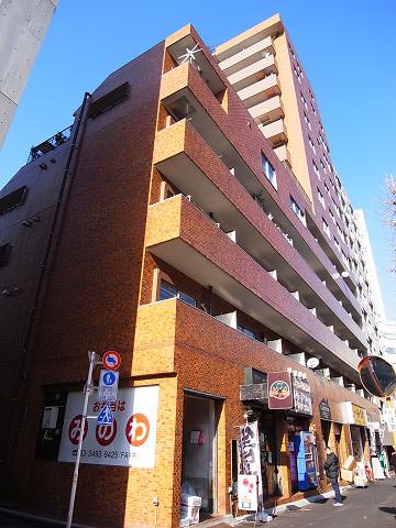 セブンスターマンション西五反田 外観