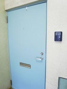 上野毛マンション 玄関