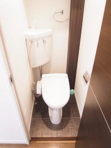 四谷フラワーマンション トイレ