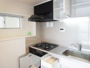 四谷フラワーマンション キッチン収納