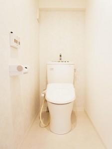 上目黒フラワーマンション トイレ