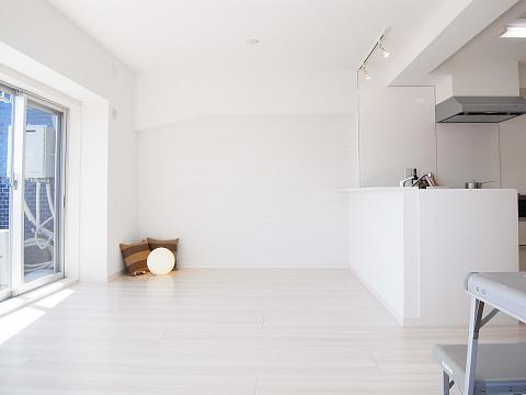 上目黒フラワーマンション リビングダイニングキッチン