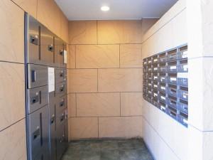 エクセルシオール西新宿 メールボックス