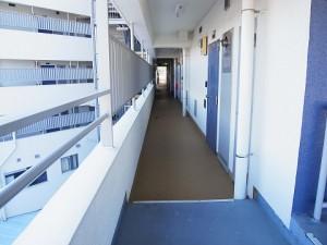 ウエスト経堂マンション 外廊下