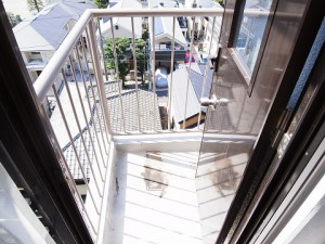 ハヤマビル 洋室1室外機置き場