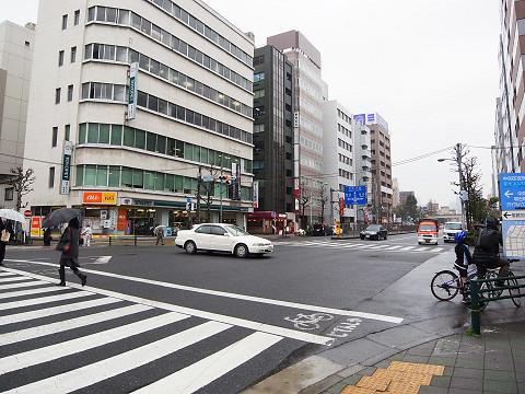 築地永谷タウンプラザ 周辺