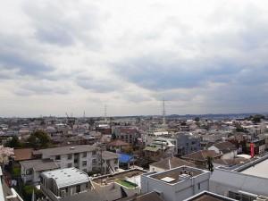 成城エコーハイツ 眺望3