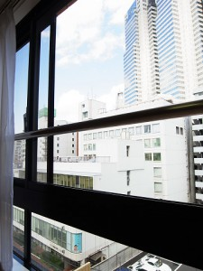 ライオンズマンション西新宿 LDK窓