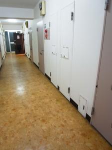 九段フラワーマンション 内廊下