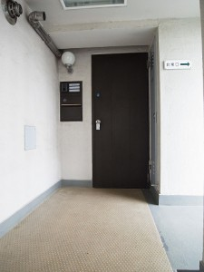 sr上用賀パークマンション 玄関