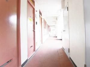 玉川サンケイハウス 外廊下