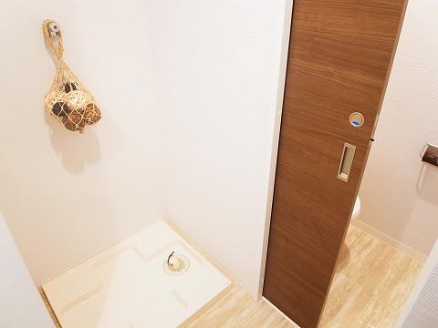 ライオンズマンション西新宿 洗濯機置き場