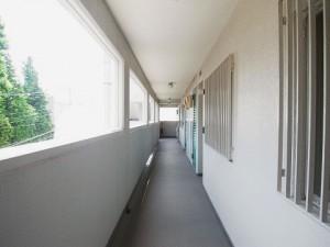 パルムハウス野沢 外廊下