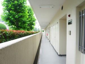 日商岩井大岡山第二マンション 外廊下