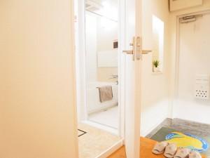 日商岩井大岡山第二マンション 洗面室