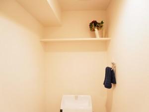 日商岩井大岡山第二マンション トイレ収納