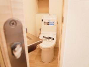 ファーストン世田谷リバーサイドテラス トイレ