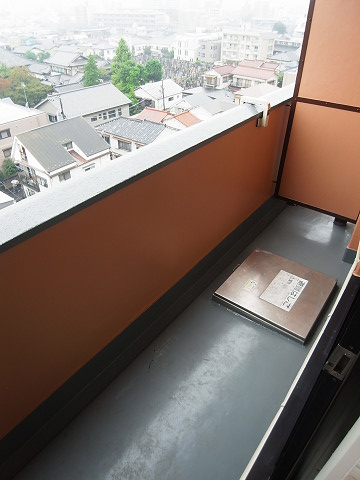 クレベール西新宿フォレストマンション バルコニー