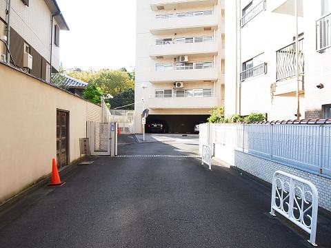 エクセルハイツ大井仙台坂 敷地