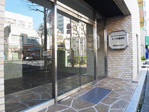カーサ中野本町 エントランス