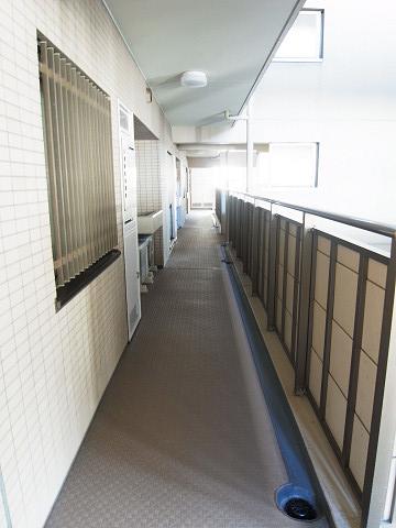 クリオ南大井壱番館 外廊下