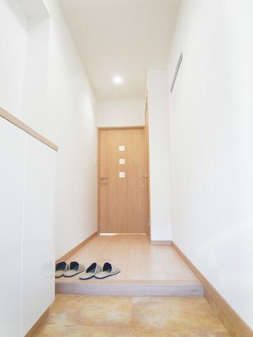 五反田スカイハイツ 玄関
