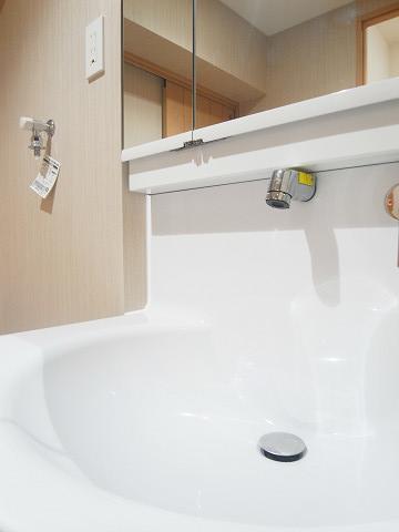 五反田スカイハイツ 洗面台